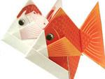 3D PaperArt Canon Goldfish