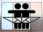 Wickeltisch Symbol