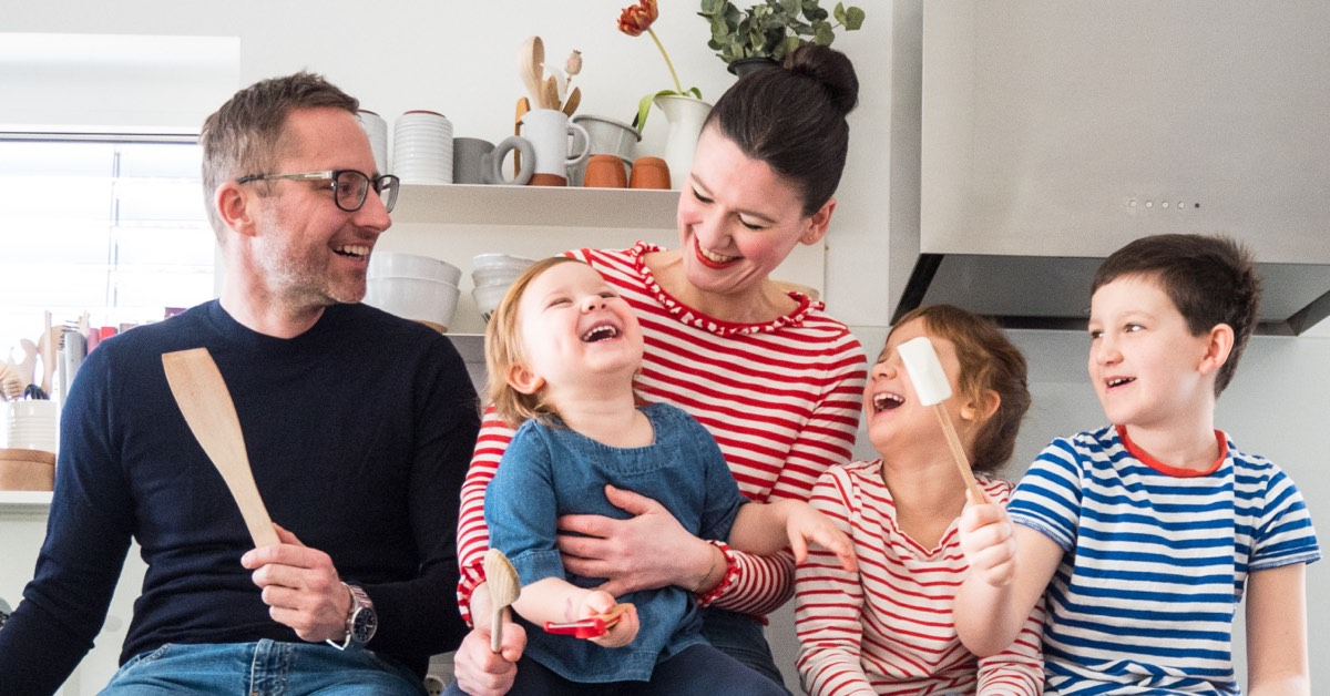 Bloggerin Olivia von More Is Now mit Familie