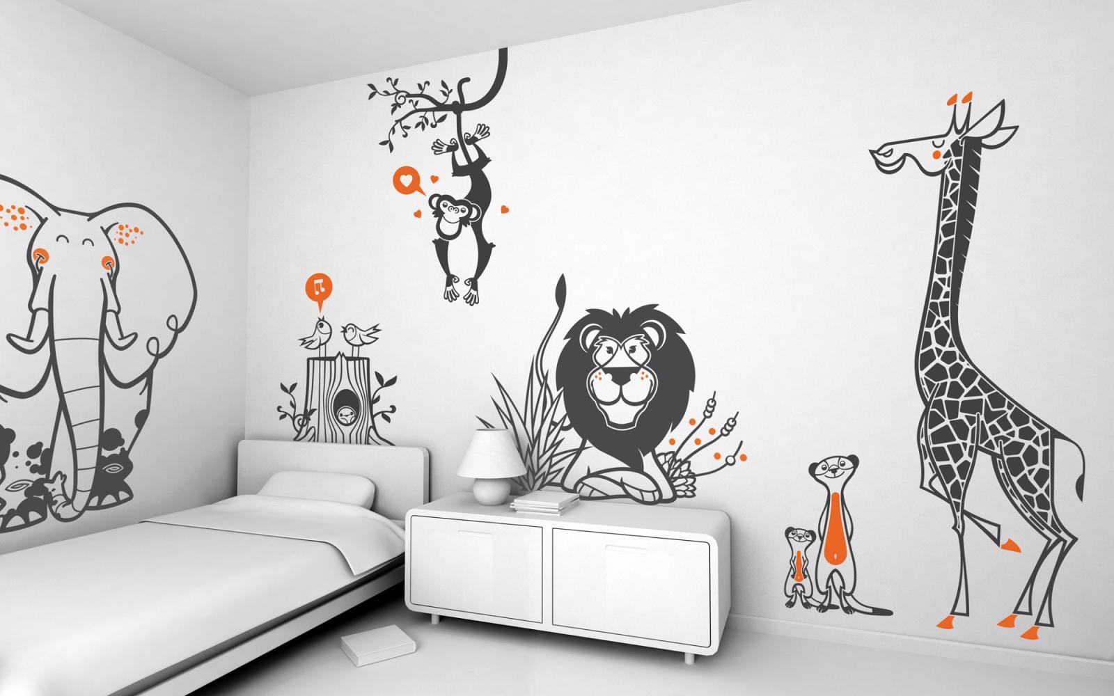 Wall Sticker - Mehr Verschönerung für Kinderzimmerwände ...