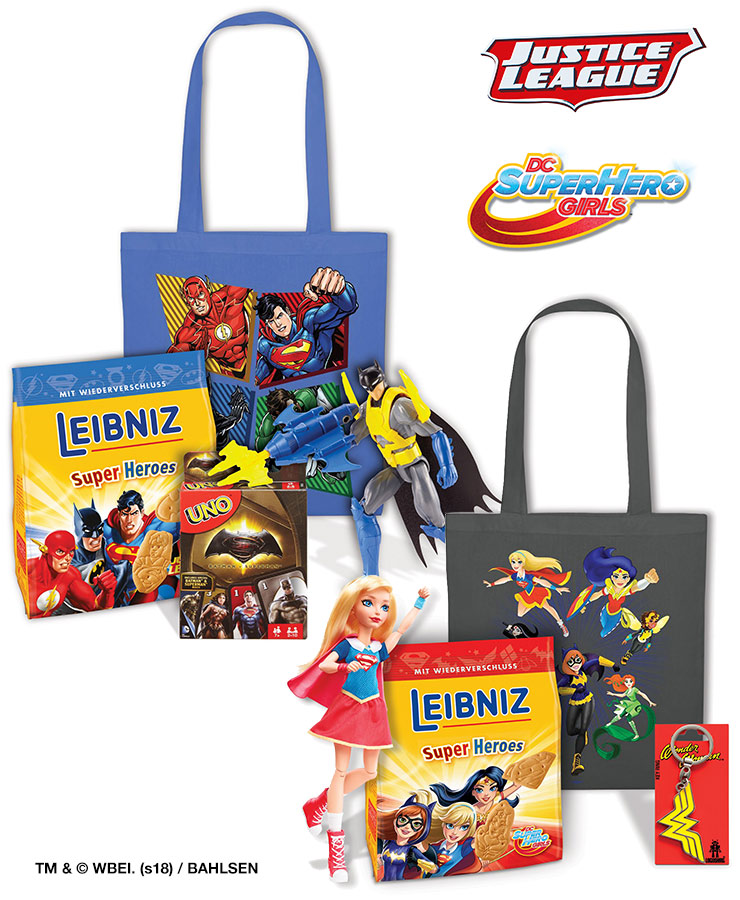 LEIBNIZ DC SUPER HEROES Packages